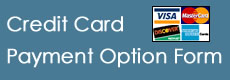Credit Card Payment Option Form